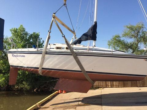 Hunter 25.5, 1986 sailboat