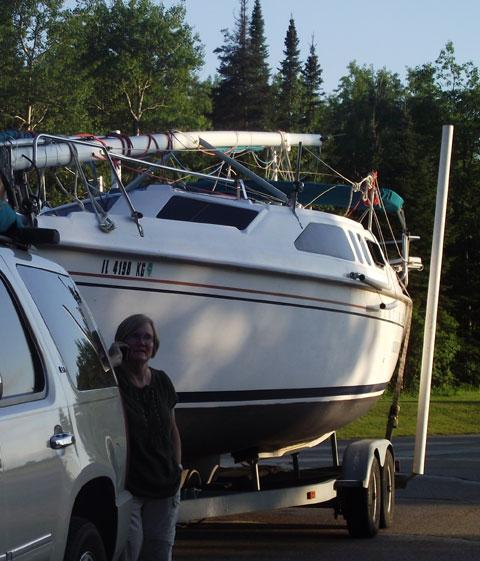 Hunter 260 GH3, 1999 sailboat