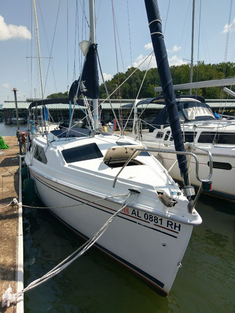 Hunter 260, 1998 sailboat