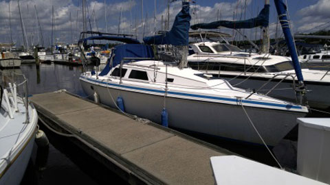 Hunter 27-2, 1989 sailboat
