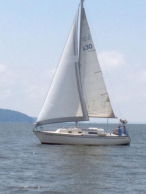 Hunter 30', 1978 sailboat
