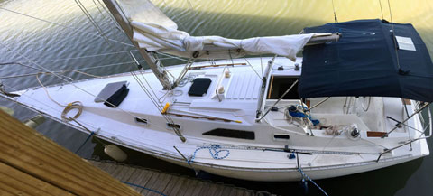 Hunter H31, 1987 sailboat