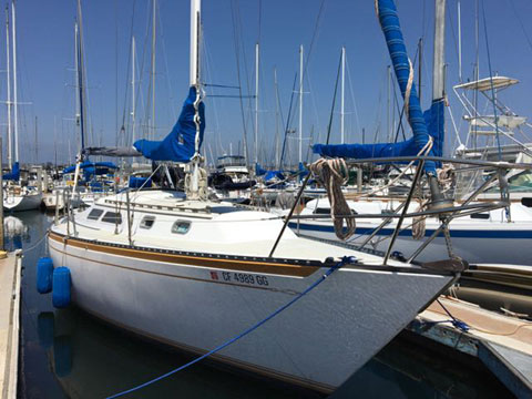 Islander MKII, 1978 sailboat