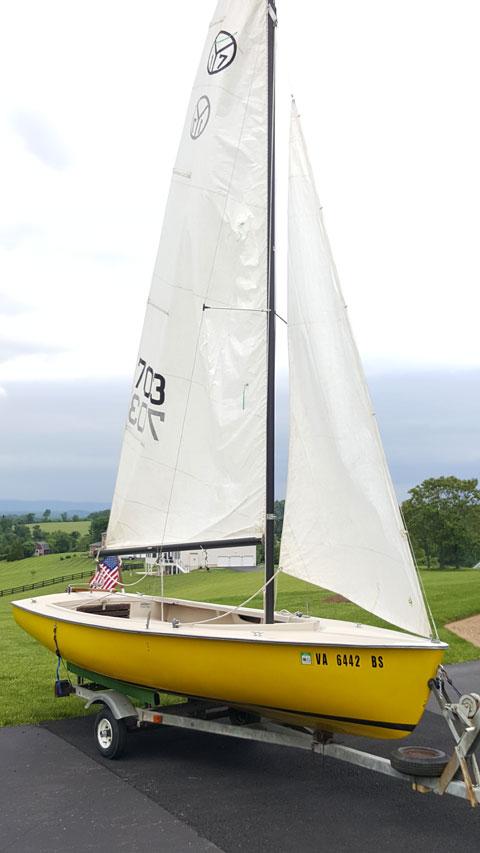 Islands 17 sailboat