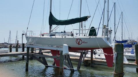 J/105, 34', 1992 sailboat