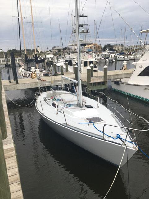 J 29, 1980 sailboat