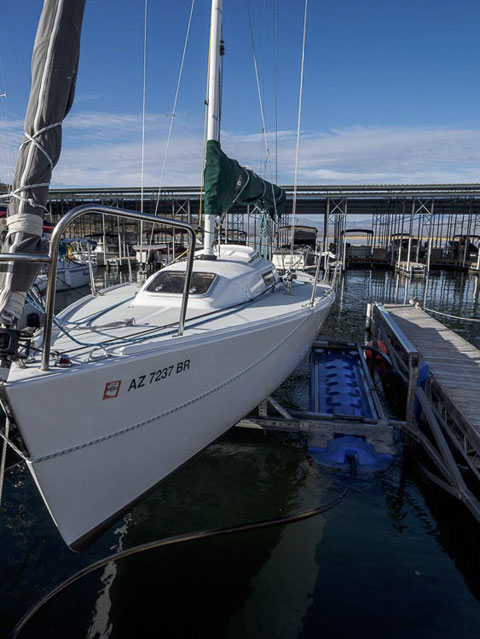 J/80 racing sailboat, 2001 sailboat