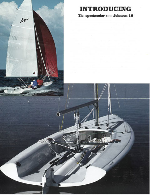Johnson 18, 1994 sailboat
