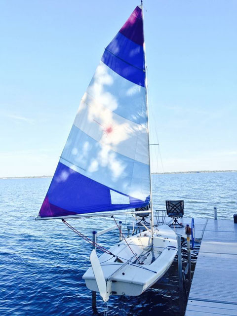 Laser II, 1981 sailboat