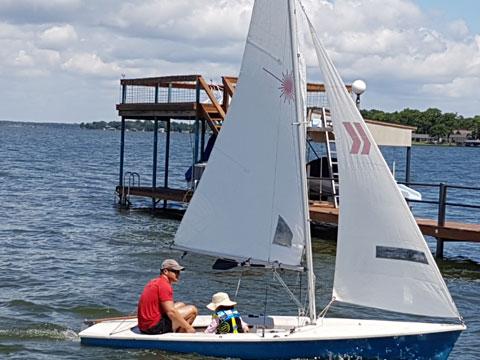 Laser II, 1984 sailboat