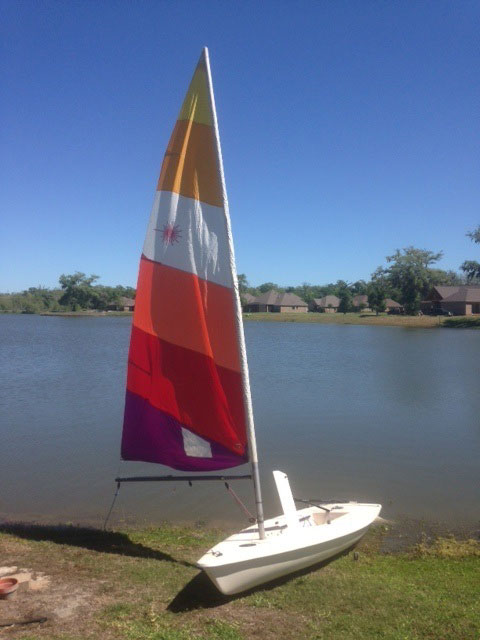 Laser Sunfish, 1982 sailboat