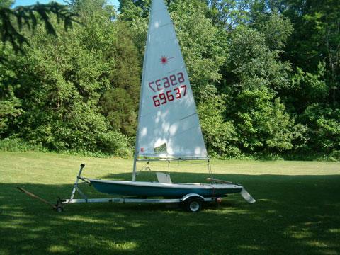 Laser 14', 1979 sailboat