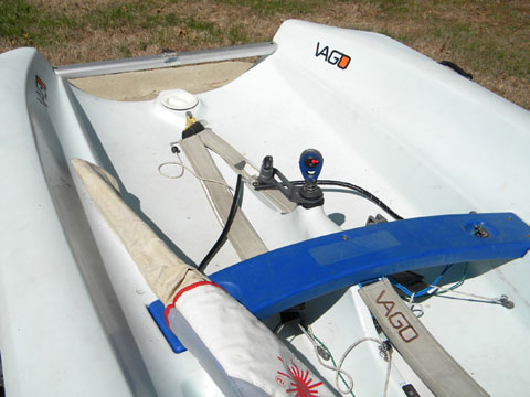 Laser Vago, 2004 sailboat