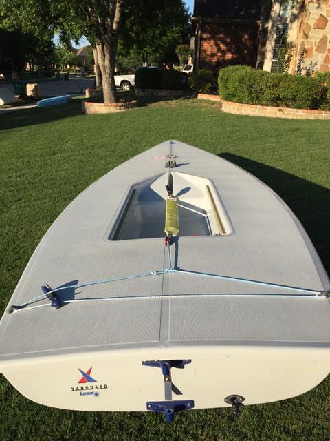 2 Vanguard Laser Pros, 2006 sailboat