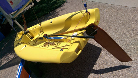 Laser Pico & Seitech Dolly sailboat