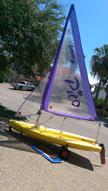 2007 Laser Pico sailboat