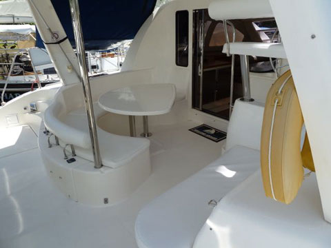 Leopard 40 catamaran, 2005 sailboat