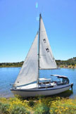 1988 Macgregor 26D sailboat