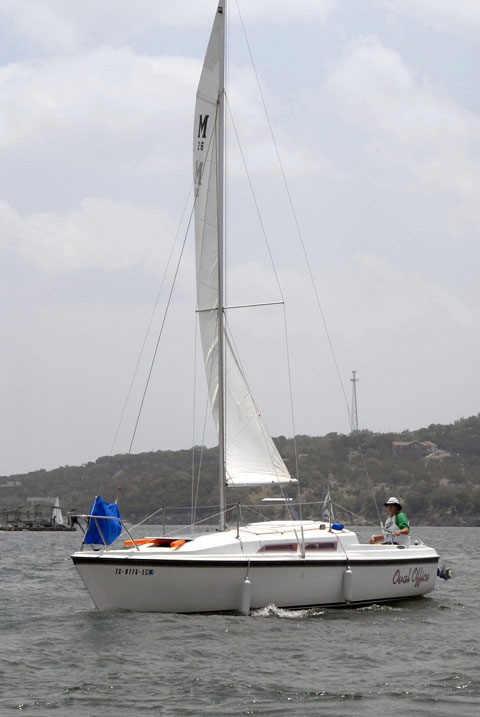 MacGregor 26D, 1988 sailboat