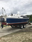 2004 Macgregor 26M sailboat