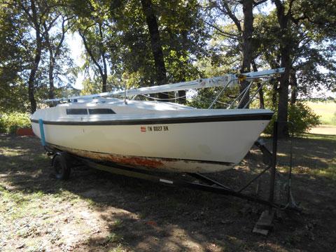 MacGregor 26, 1991 sailboat