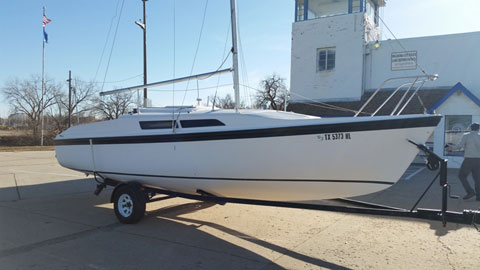MacGregor 26S, 1995 sailboat