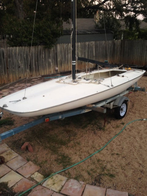 M16 Scow, 1971 sailboat