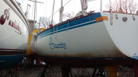 MERIT 25, 1982 sailboat