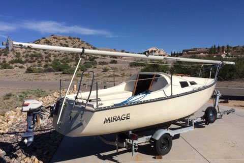 Mirage 5.5, 1982 sailboat