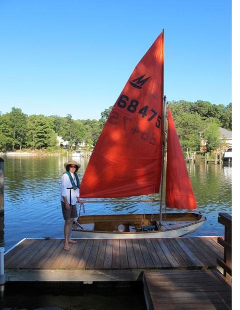 Mirror Sailboat, 1999 sailboat