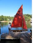 1999 Mirror 16 sailboat