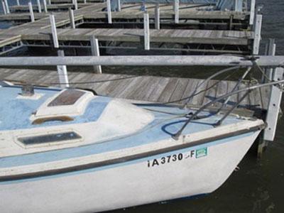 Monterey 20 ft., 1977 sailboat
