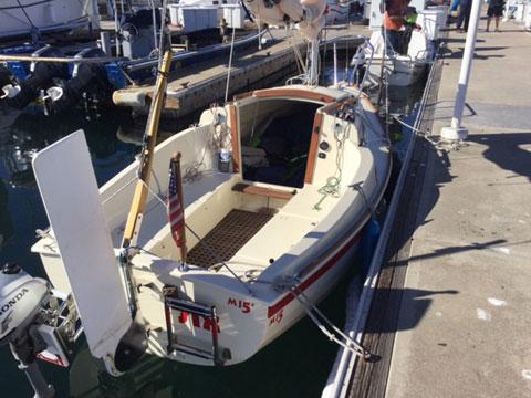 Montgomery 15, 2012 sailboat