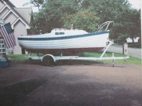 Montgomery 17, 1975 sailboat