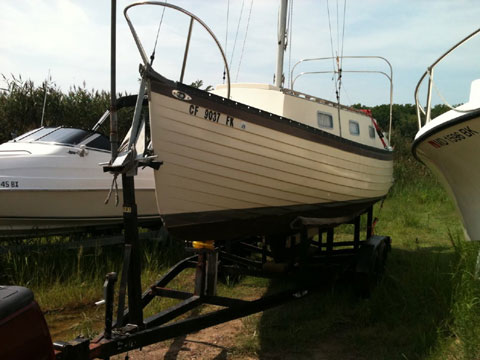 Montgomery 23, 1978 sailboat
