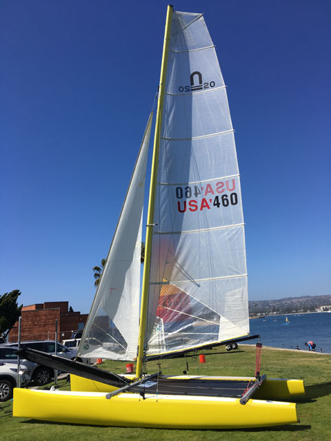 Nacra 20, Performance Catamarans (INTER 20), 2001 sailboat