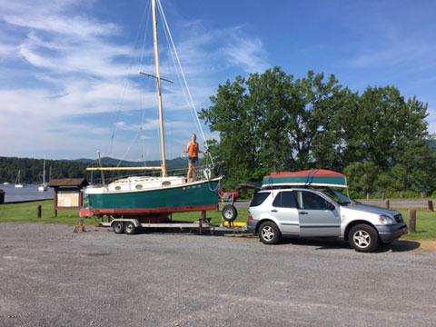 Nimble 24 Tropic Yawl, 1989 sailboat