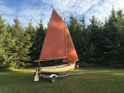 Nordic Classic Sailing and Rowing Dinghy, 1987 sailboat