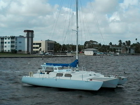 Norman Cross trimaran, 40', 1988 sailboat