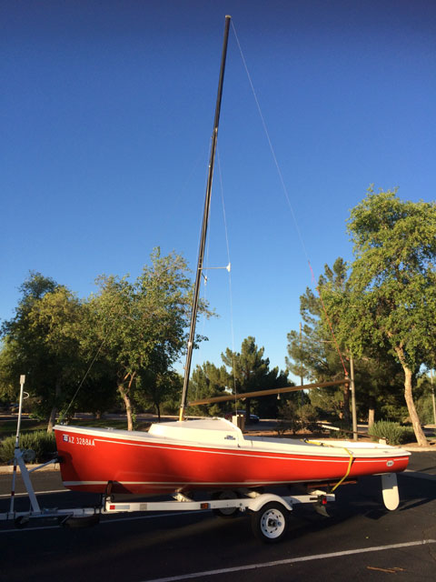 O'Day Daysailor II, 17', 1973 sailboat