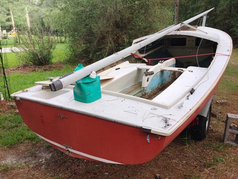 Oday Daysailer I, 1970, sailboat