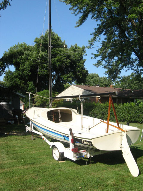 O'Day DaySailer II, 1982 sailboat