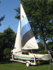 1982 Oday 17 sailboat