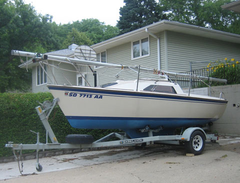O'Day 19, 1986 sailboat