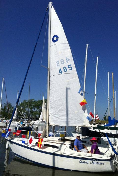 O'Day 23, 1980 sailboat