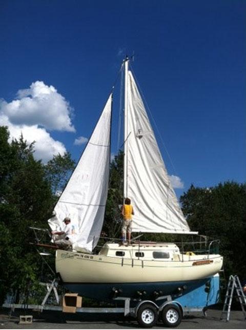 Pacific Seacraft Flicka 20, 1978 sailboat