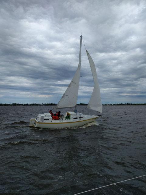 Parker Dawson 26, 1972 sailboat