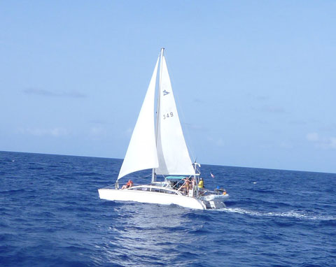 PDQ 36 Classic 36' Sailing Catamaran, 1994 sailboat