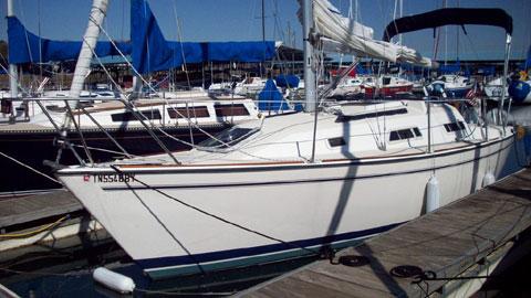 Pearson 27, 1987 sailboat