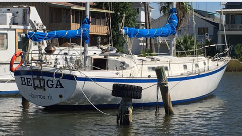 Pearson 424 Ketch sailboat